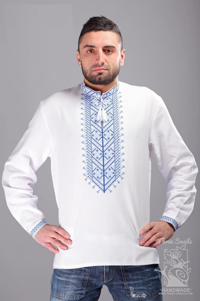 Embroidered Shirt Carpathian Rhythms - Vasylchenko1