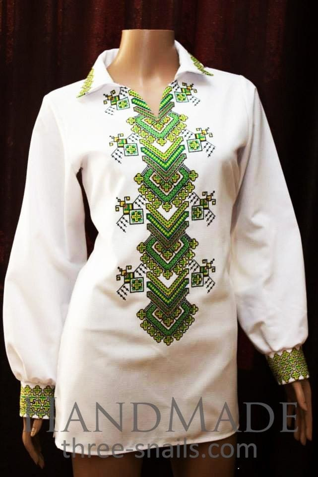 Embroidered Tops. Woman Blouse (Vyshyvanka) - Melnichenko1