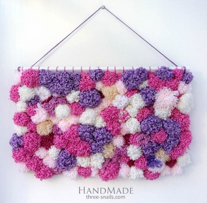 "Exclusive wall hanging ""Pink dream"" - 1"