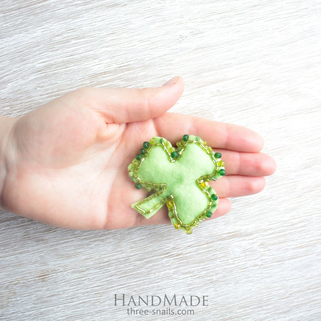 Felt Brooch Accessory Early Spring - Vasylchenko1