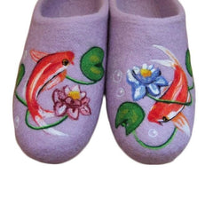 Felted Wool Slippers Koi Fish - Vasylchenko1