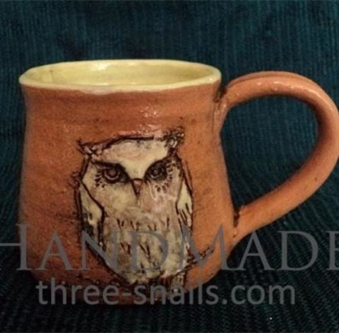 Fireclay Cup Owl - Cup And Mug