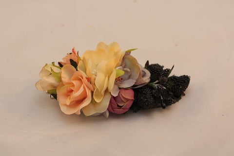 Flower Accessories For Hair. Barrette «Summer» - Melnichenko1