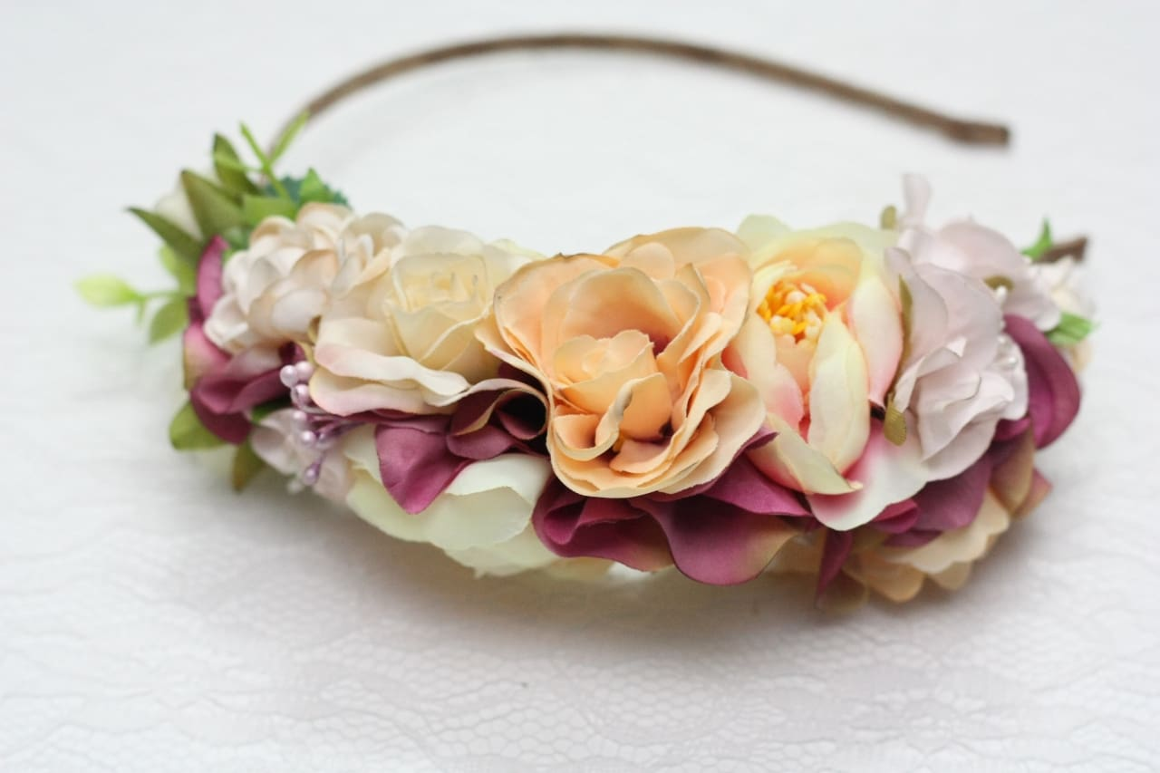 Flower Girl Headpiece Summer Tenderness - Vasylchenko1