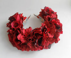 Flower Headband Element Of Red - Melnichenko1