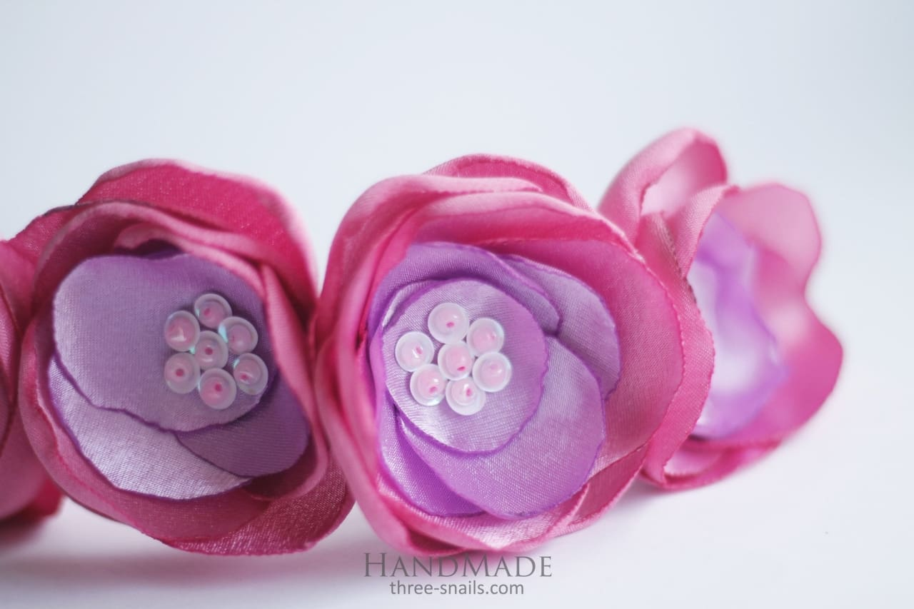 Flower Headband Powder - Melnichenko1