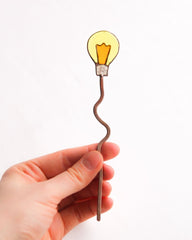 Fun Jewelry. Pin-Bulb For Hair - Melnichenko1