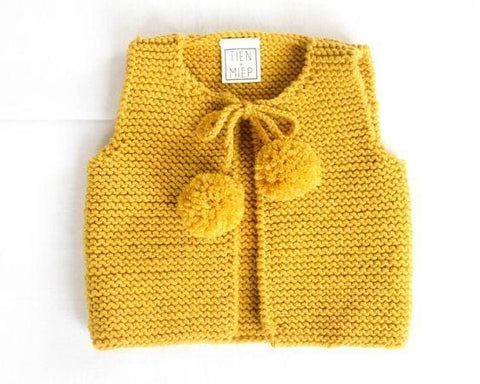 Girl Knitted Vest Cardigan - Baby Clothes
