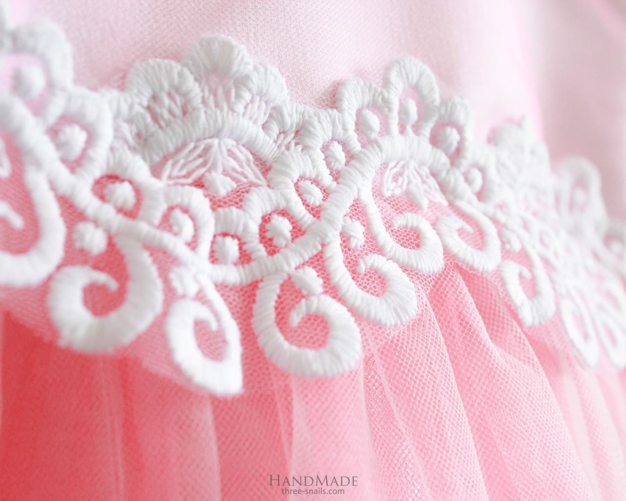 Girl Tulle Dress - Baby Dress