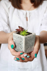 Giveaway - Pot For Succulents Cube - Vasylchenko1