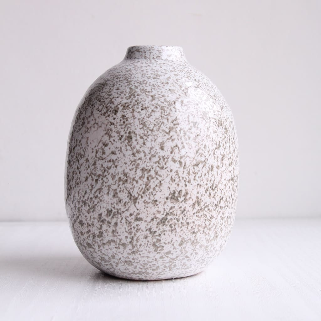Gray Ceramic Vases - Vase