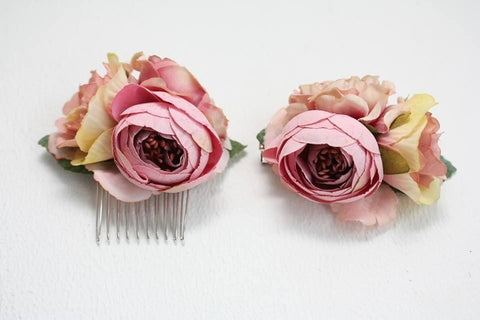 Hair Combs And Clips Set Spring - Vasylchenko1