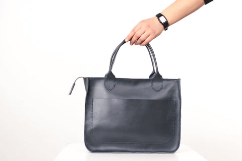 large leather handbags