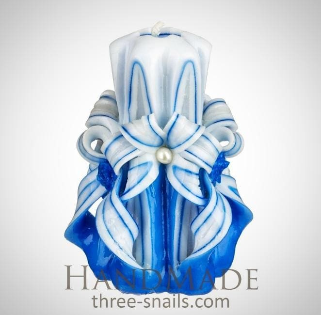 Hand Crafted Candles Blue Sky - Candle