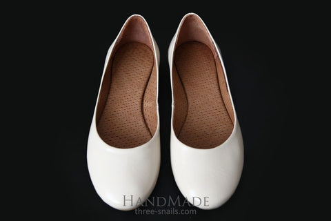 Hand Made Shoes «Pale Nude» - Vasylchenko1