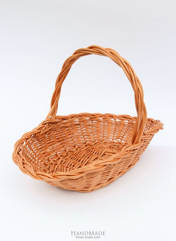 Hand Woven Baskets Fruit Mix - Basket