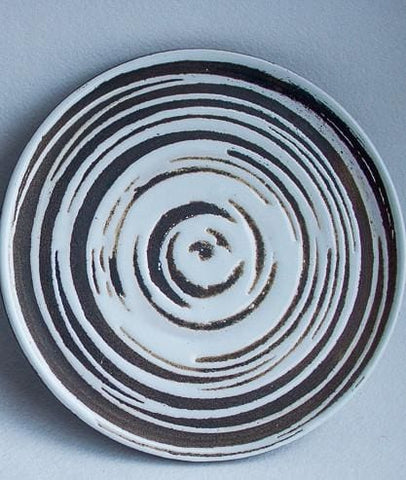 Handmade Ceramic Dish Circulation - Plate