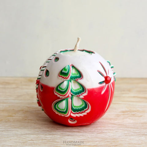 Christmas decoration candle