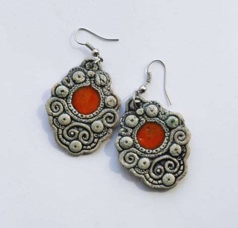 Handmade Earrings Antiquity - Melnichenko1