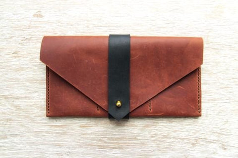 Handmade Leather Wallets Exclusive Style - Vasylchenko1
