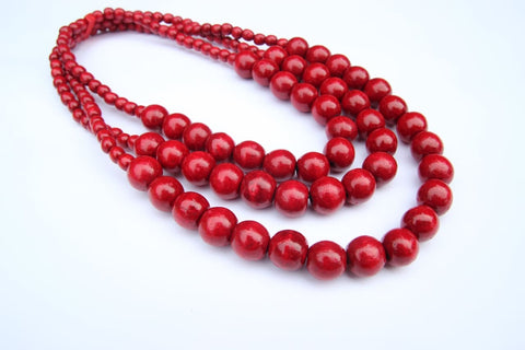 Handmade Necklace Ash Berry - Vasylchenko1
