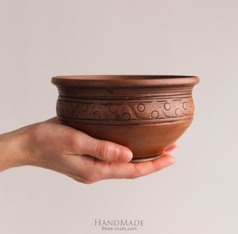 Handmade Pottery Bowls Magic Wave - Bowl