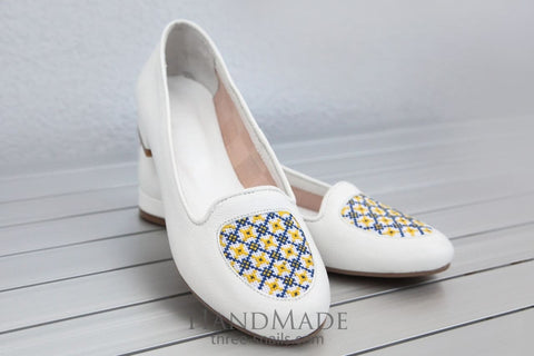 Handmade Shoes «White Pearl» - Vasylchenko1