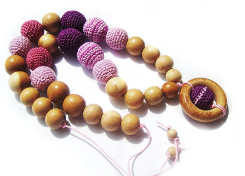 Handmade Sling Beads Happy Childhood - Toy