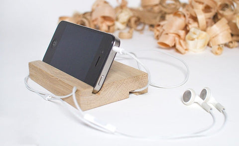 Handmade Wood Stand For Iphone Ihandy - Melnichenko1