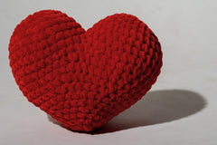 Small crochet heart - 1