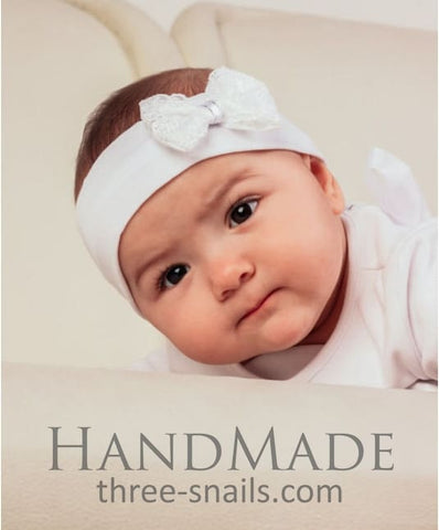 Infant Headband Bow - Baby Clothes