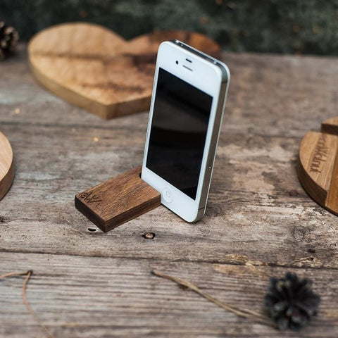 Iphone And Tablet Wood Stand Hook - Vasylchenko1