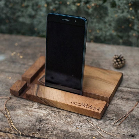 Iphone And Tablet Wood Stand Rectangle - Vasylchenko1