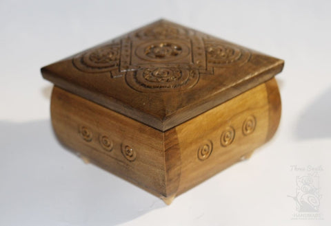 Jewelry Boxes Carved Square - Vasylchenko1