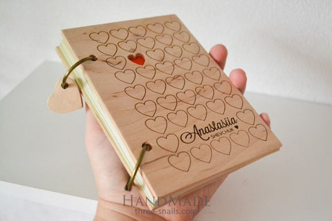Journal Notebook Hearts - Vasylchenko1