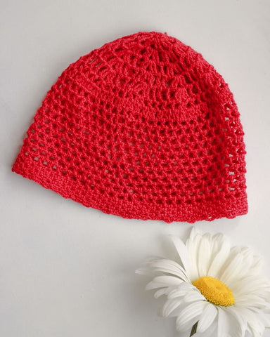 Kids Crochet Hats Little Red Riding Hood  - Baby Clothes