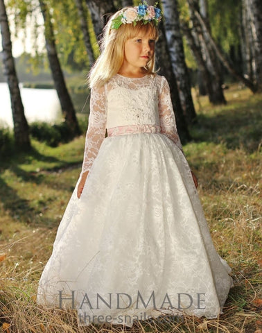 Kids Dresses Lace Harmony - Occasion Dress