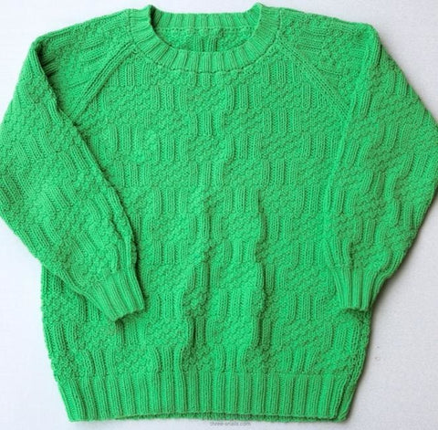 Kids Green Sweater - Baby Clothes