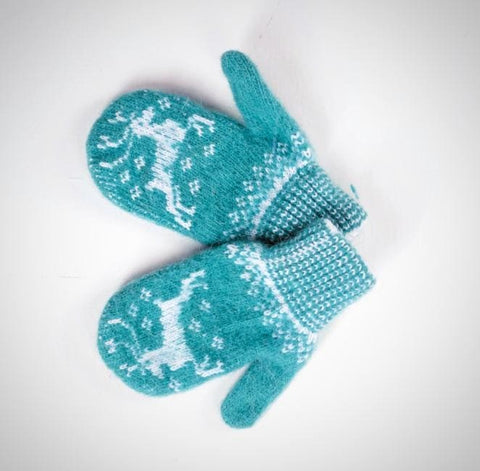 Kids Mittens Winter Pattern - Baby Clothes