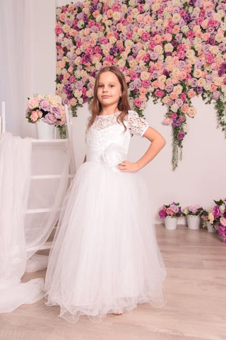 Kids Party Dresses Tender Flower - Occasion Dress