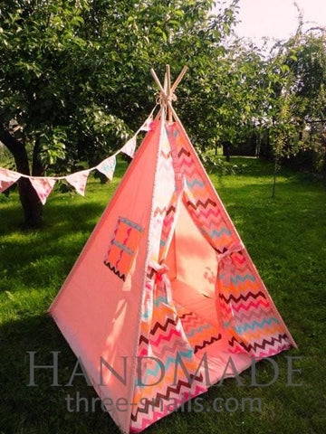 Kids Tent Red Indian - Toy