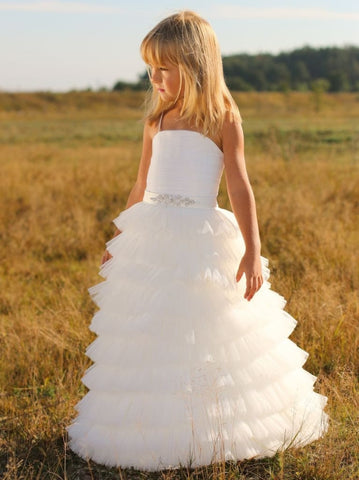 Kids White Dress Rhythm - Occasion Dress