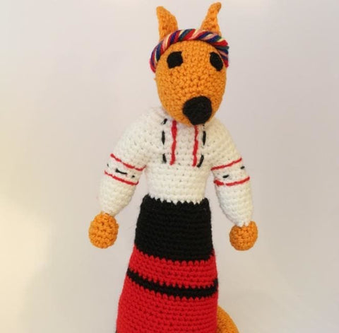 Knitted Animals Fox - Toy
