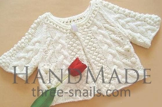 e4171f7f4969 Knitted baby jumper