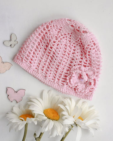 Knitted Hats For Babies Pink Dream - Baby Clothes