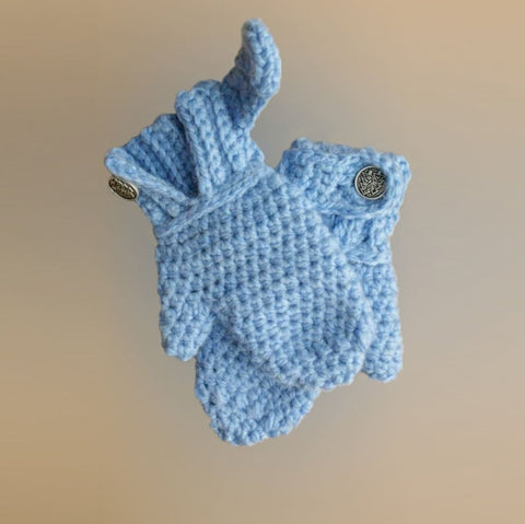 Knitted Mittens For Kids Tenderness - Baby Clothes