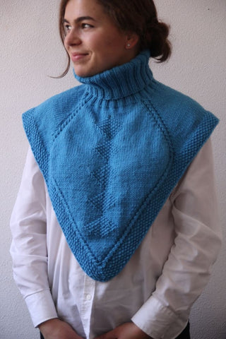 Knitted Neckwarmer For Women - Popovichenko