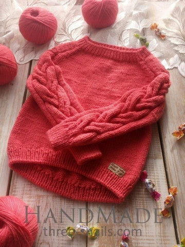 Knitted Sweater For Girls - Baby Clothes