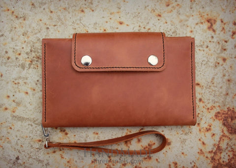 Leather Wallets Traveller - Melnichenko1