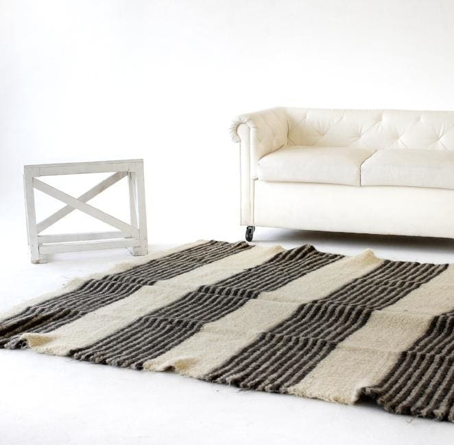 Living Room Rug Black And White - Rug